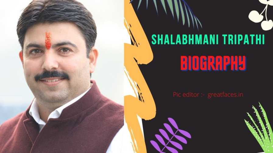 Shalabhmani Tripathi BJP