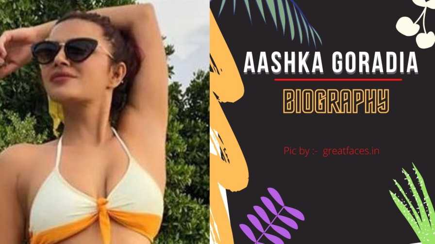 aashka goradia biography