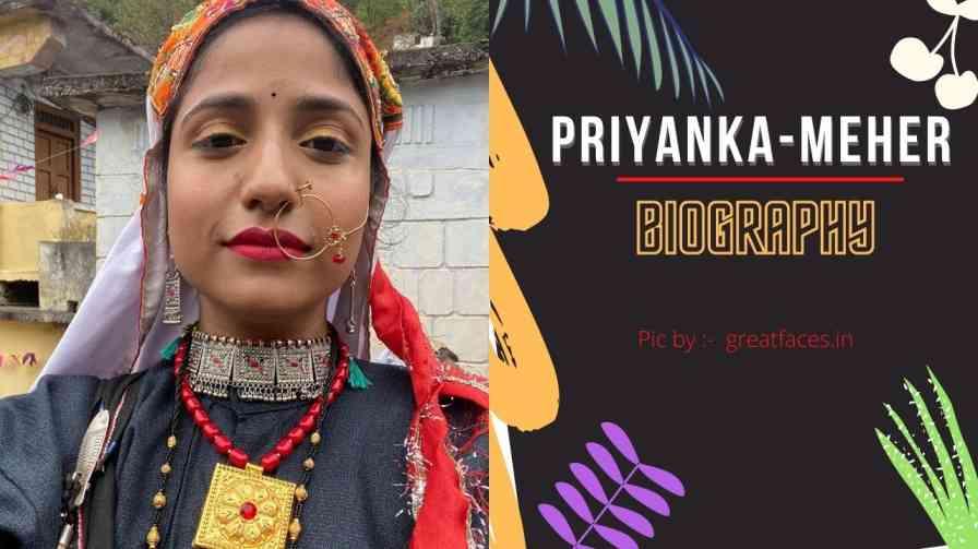 priyanka meher biography