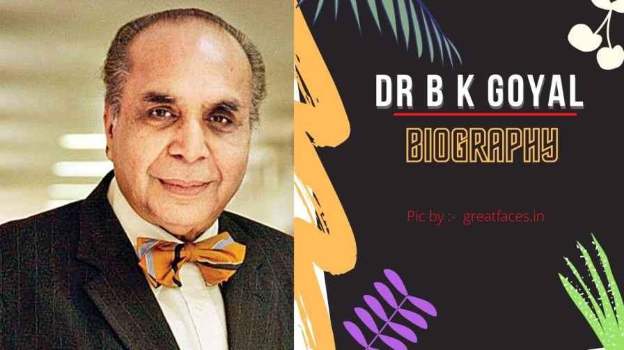 dr bk goyal
