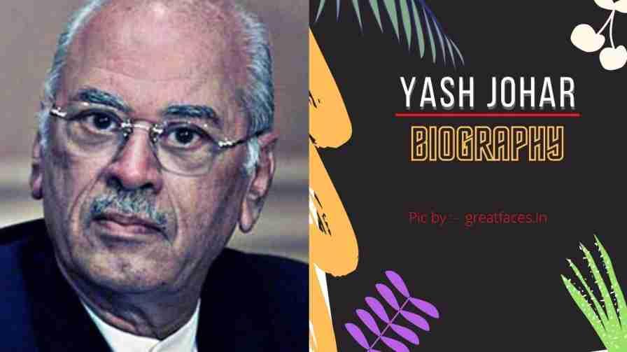 yash johar age