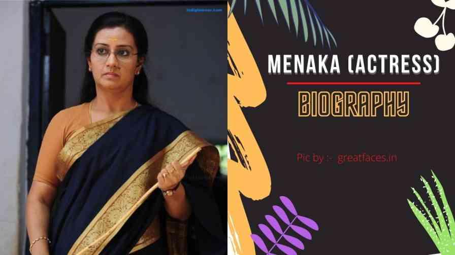 Menaka Suresh Biography